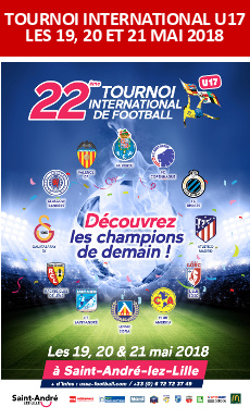 Tournoi International U17 des 19, 20 et 21 mai 2018